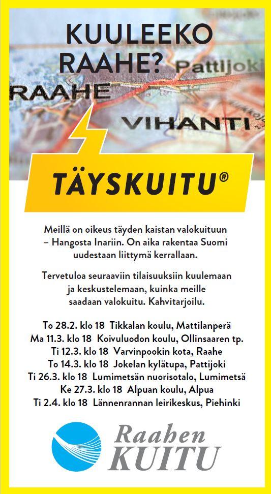 Raahen Kuitu Oy Raahen Energia Oy